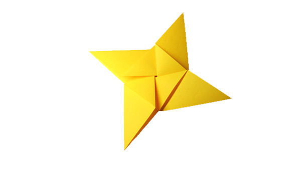 Origami Pointed Star