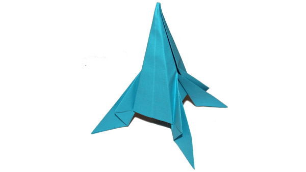 Origami Rocket
