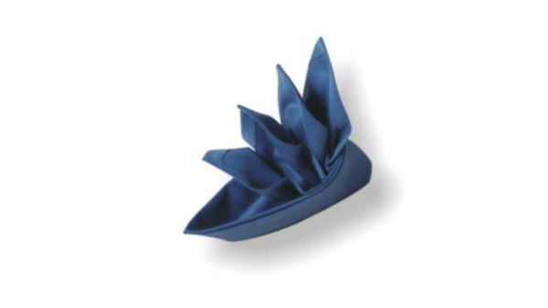 origami napkins bird of paradise