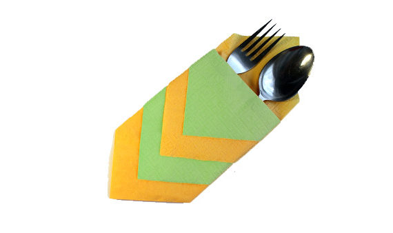 Napkin for silverware