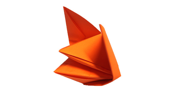 Origami Talking fox