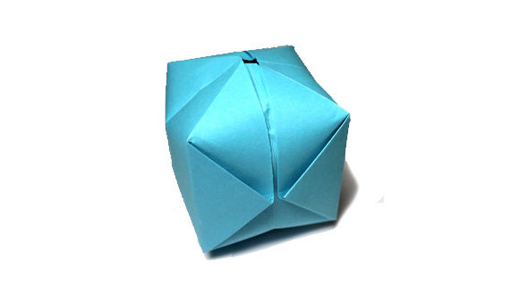Origami water bomb