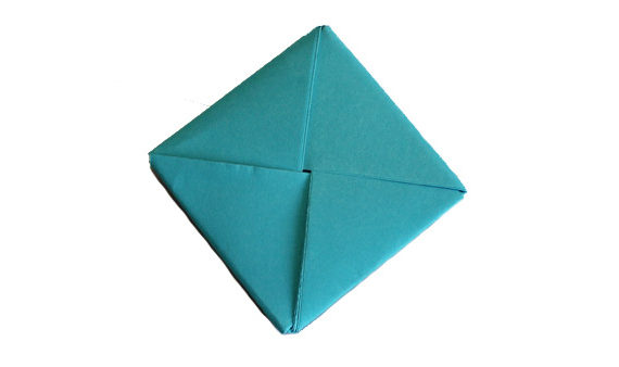origami small pillow