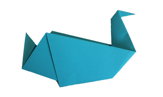 Origami waterfowl