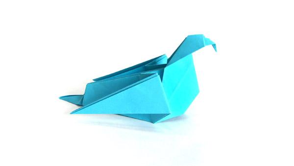 Origami albatross