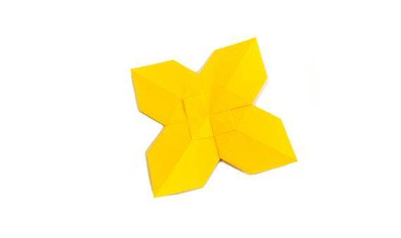 Origami buttercup