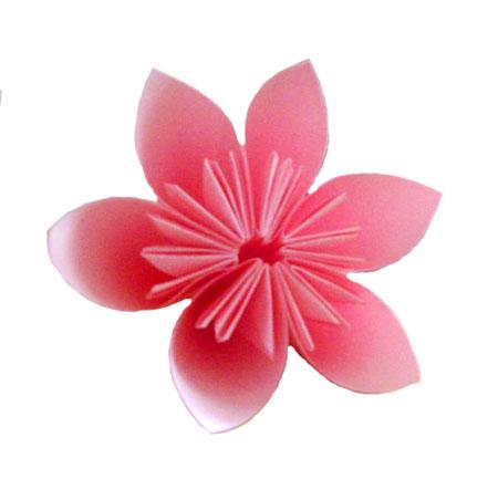 Origami Sakura flower