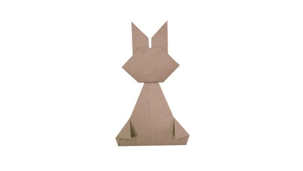 Origami leveret