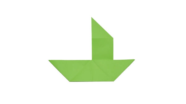Origami Boat – Sailboat