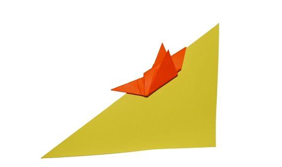 Origami Sliding boy