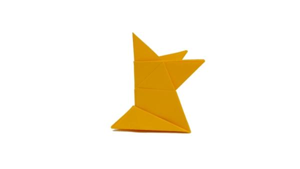 Origami Sumo wrestler