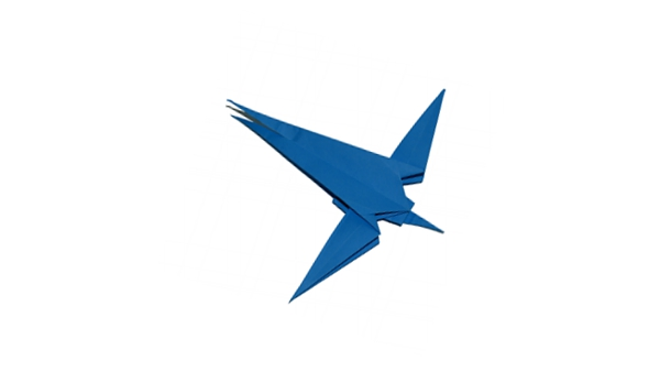 Origami Swallow Bird