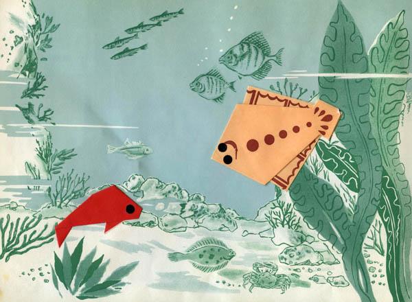 Origami - Flounder