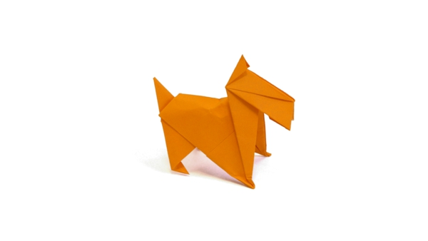 Origami - Scottish terrier